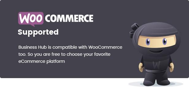 business hub supports woocommerce