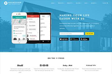 Modern Mobile App